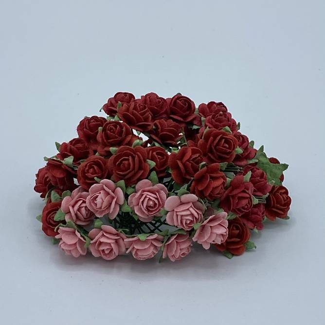 Bilde av Roser 1,2 Rød miks (6)
